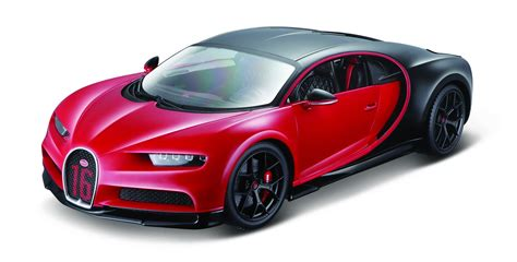 Free delivery for many products! Bburago 1/18 2018 Bugatti Chiron Sport - Red - Diecast | eBay