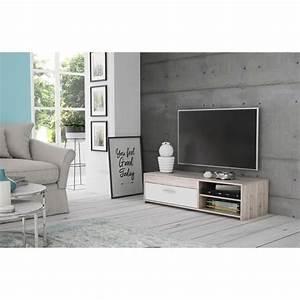 Meuble Tv C Discount : meuble tv gris achat vente pas cher cdiscount ~ Teatrodelosmanantiales.com Idées de Décoration
