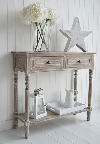 richmond furniture range console table  drawers