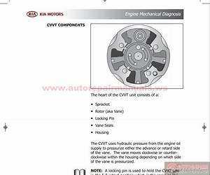 Kia Course Guide Engine Mechanical Diagnosis