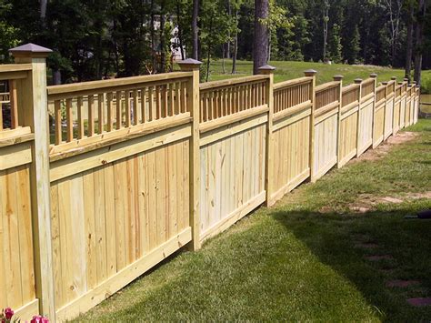 New Wood Fence
