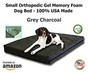amazon com small dog bed orthopedic memory foam bed 22