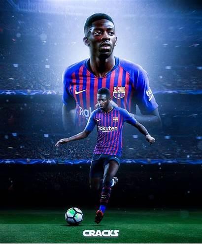 Dembele Ousmane Barcelona Barca Futbol