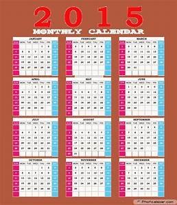 printable calendar free 2015 2017 printable calendar With free downloadable 2015 calendar template