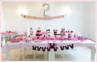 decoration bar anniversaire le bar kit anniversaire d 233 coration sweet table sweet table kit minnie soraya