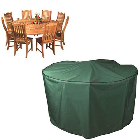 premier luxury circular patio set cover 8 seat