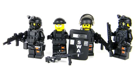 Swat Team Complete Value Police (sku54) Made With Real