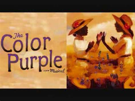 the color purple soundtrack songs god is trying to tell you somethin the color purple