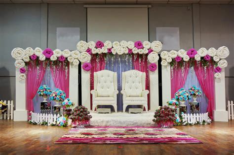 Traditional wedding stage stock image Image of cultural