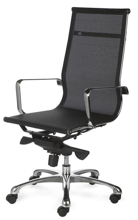 sieges bureau fauteuil de bureau design tout filet et chromé saumur