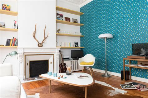 peinture cuisine jaune rénovation décoration maison bourgeoise scandinave