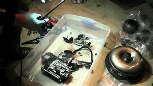 A500se  44re Valve Body Teardown