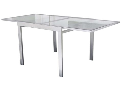 table cuisine extensible table verre extensible conforama table de lit a roulettes