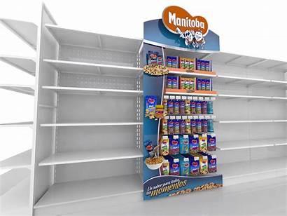 Pop Behance Display Manitoba Displays Supermercado Pos