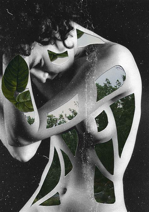 surrealistische collages van rocio montoya eyespired