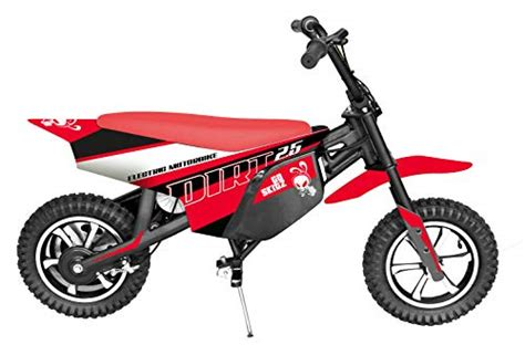 goskitz dirt  moto electrica  ninos color rojo