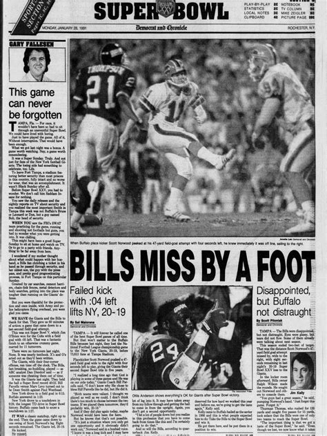 newspaper front pages   biggest moments  nfl