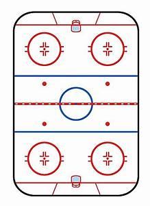 U0026quot  Ice Rink Diagram Hockey Game Companion U0026quot  Photographic