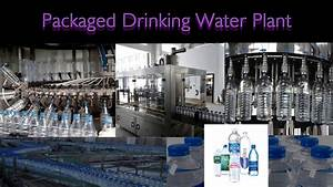 Packaged Drinking Water Plant  Mineral Water Plant