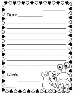 friendly letter template 1000 images about friendly letters on 8842