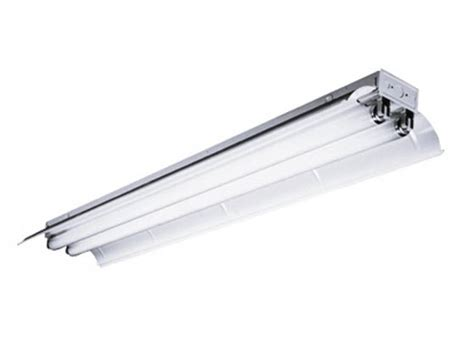 8 industrial fluorescent fixture for two f96t8 ls