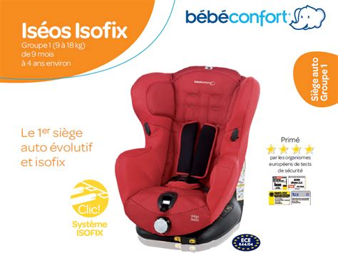 siege auto bebe confort iseo neo bebe confort siège auto iséos isofix gr 1 achat vente