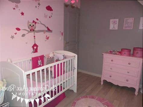 Revgercom = Idee Deco Chambre Bebe Fille Rose Et Gris