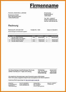 Rechnung Model : 8 rechnung schreiben muster savoir faire aquitaine ~ Themetempest.com Abrechnung