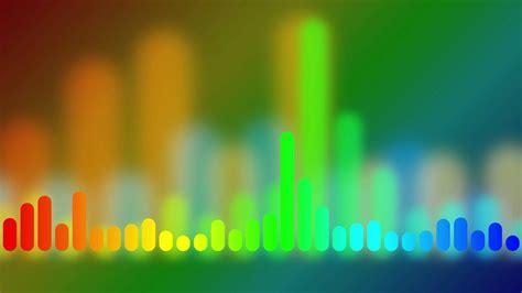 rainbow  equalizer hd animated background