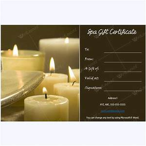 50 spa gift certificate designs to try this season With massage gift certificate template free download