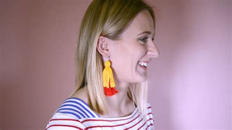 quot how to make quot tassel earrings lincraft lincraft
