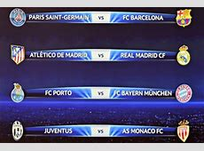Sorteggio Champions 2015 quarti di finale, la Juventus