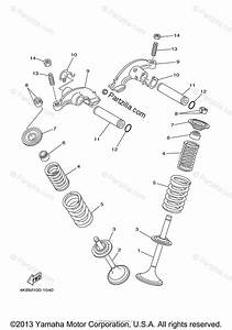 Yamaha Atv 2007 Oem Parts Diagram For Valve