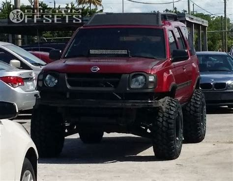 2003 nissan xterra lifted wheel offset 2003 nissan xterra aggressive 1 outside
