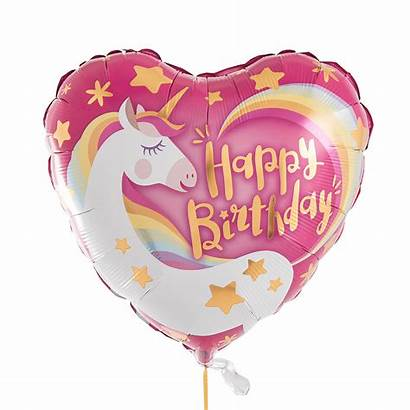 Unicorn Birthday Magical Balloon Filled Happy Helium