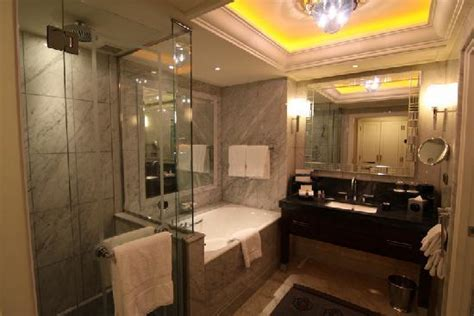 bathroom with separate bath and shower picture of four