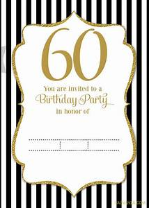 Download now free printable 60th birthday invitation for Free printable 60th wedding anniversary invitations