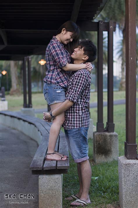 couple photo shoot derrick chin ariel tan skai chan