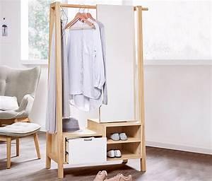 Kleiderständer Holz Weiß : kleiderst nder mit spiegel online bestellen bei tchibo 329415 ~ Orissabook.com Haus und Dekorationen