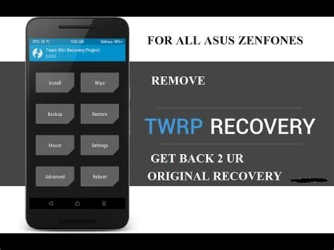 Adb and fastboot tool are used if you find the asus zenfone go 4.5 (x014d) (zb45kg) firmware in the form of.img files like boot.img, fastboot.img, recovery.img and so on which are extracted from zip or raw files, and also used for flashing firmware ota update (example REMOVE TWRP from asus zenfones (ZE550KL) - YouTube