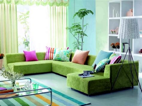 Fresh Colors In The Living Room