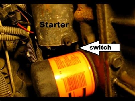 96 Cavalier Fuel Filter by How To Replace The Starter In A Gm 2 4l Four Grand Am