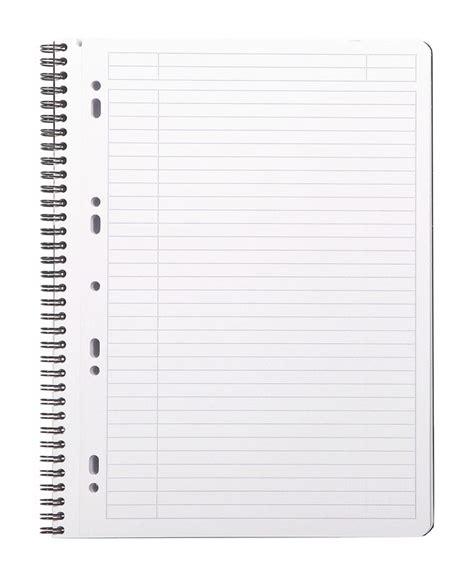 fournitures de bureau professionnel cahier ligné grand format de la collection rhodiactive en