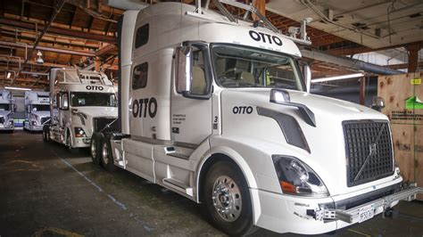 driving automated trucks  hit  road sooner
