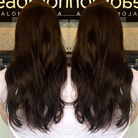 Rich Espresso Hair Dye by 60 Chocolate Brown Hair Color Ideas For Brunettes Hair