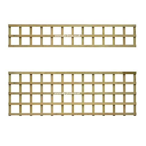 Square Wood Trellis by Square Trellis Top For Fence Panels Kudos Fencing Supplies