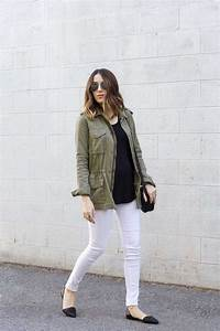 Outfit Green Jacket