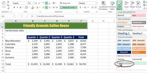 what does open table mean how to format your spreadsheets in excel with styles