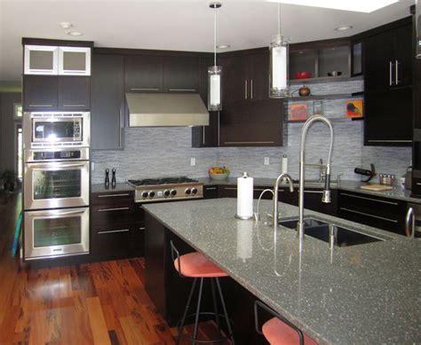 espresso kitchen island espresso kitchen with large island modern kitchen 3596