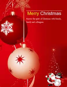 ms word colorful christmas flyer templates word excel templates